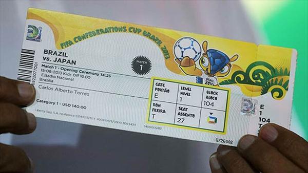 Precio entradas a los estadios para el Mundial Brasil 2014