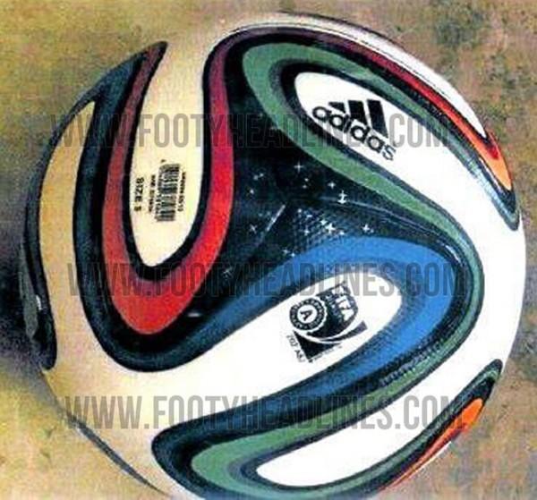 Balón Oficial Adidas para el Mundial Brasil 2014