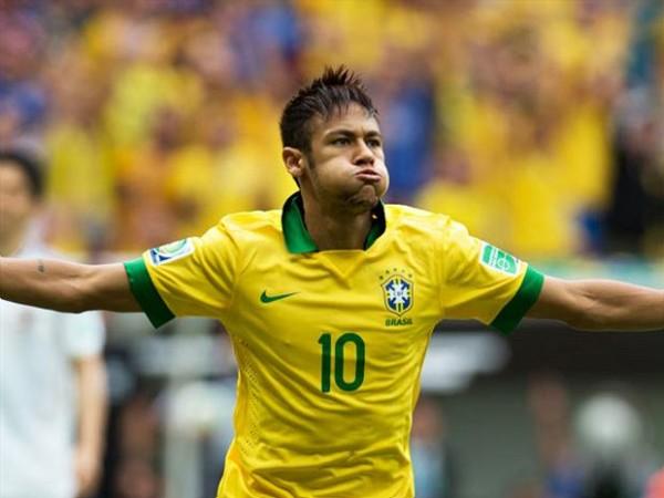Neymar y una joyita de gol con su selección
