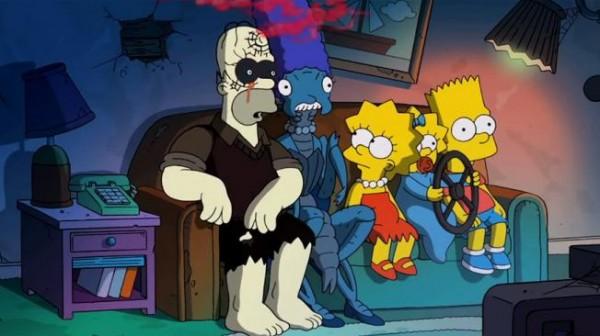 Episodio de los Simpson por Halloween dirigido por Guillermo del Toro