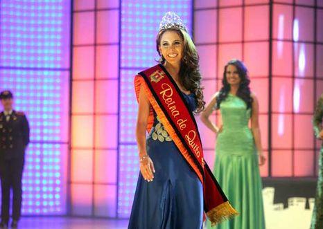 Cristina Elizalde Reina de Quito 2013