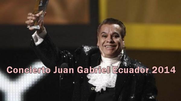 Concierto Juan Gabriel Ecuador 2014