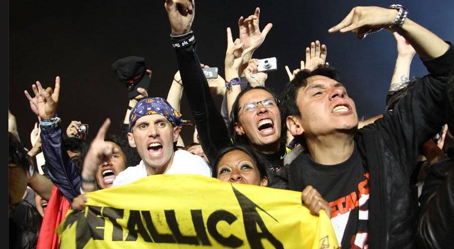 Concierto de Metallica dejo 44 personas detenidas en Quito