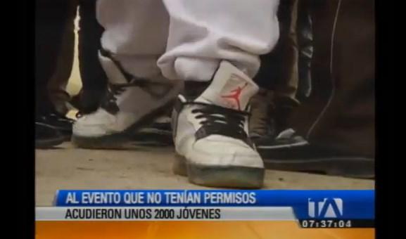 Fiesta Juvenil Rakata 4 fue cancelada por la Policía en Quito