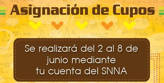 Asignación de Cupos ENES SNNA SENESCYT Ecuador