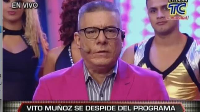 Vito Muñoz se despide de Soy el Mejor