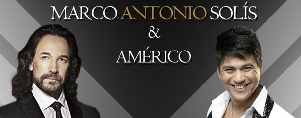 Concierto Marco Antonio Solís y Américo Ecuador 2014