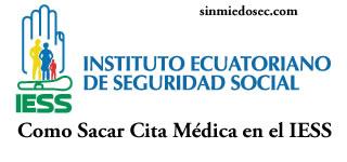Como Sacar Cita Médica en el IESS Ecuador