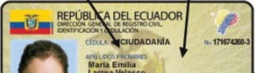 Renovar Cédula de Identidad en Ecuador