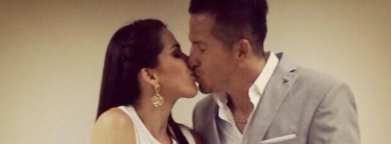 Karin Barreiro se casó por el Civil