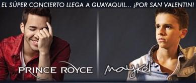 Prince Royce en Guayaquil Febrero 2015
