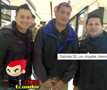 Rafael Correa investiga la Pagina Crudo Ecuador