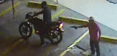 Video balacera en Guayquil por intento de robo