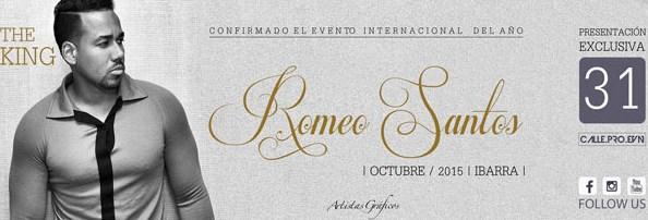 Concierto Romeo Santos Ibarra Octubre 2015