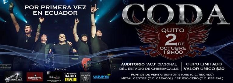 Concierto Coda Ecuador 2015