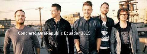 Concierto OneRepublic Ecuador 2015