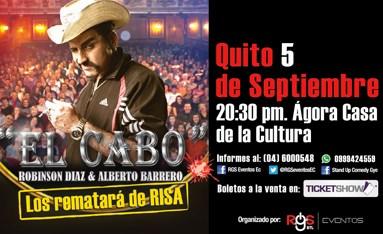 Monólogo de El Cabo en Quito Septiembre 2015