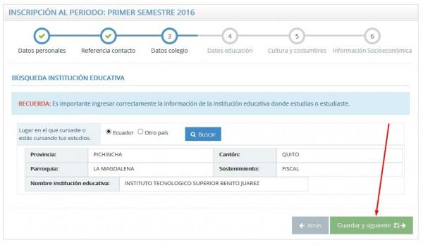 SNNA - Sistema Nacional de Nivelación y Admisión 2015