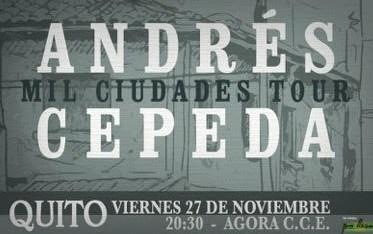Concierto Andrés Cepeda Quito 2015