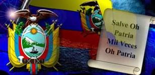 Estrofas del Himno Nacional del Ecuador
