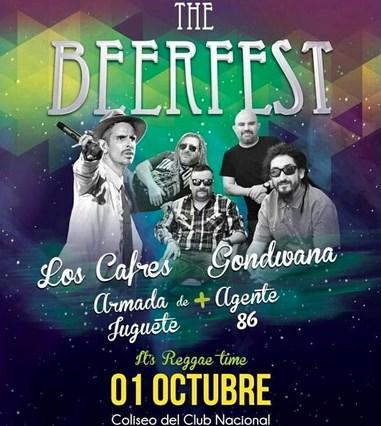 Concierto Gondwana y Los Cafres Guayaquil Octubre 2015