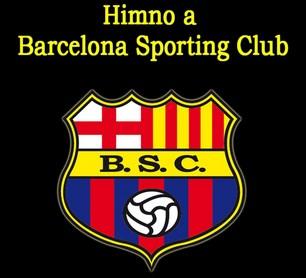Letra del Himno de Barcelona SC