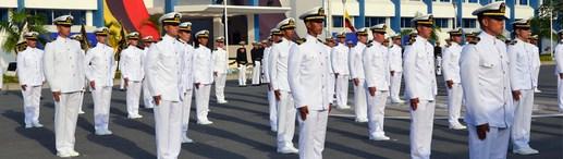 Reclutamiento Guardiamarinas de Arma Ecuador
