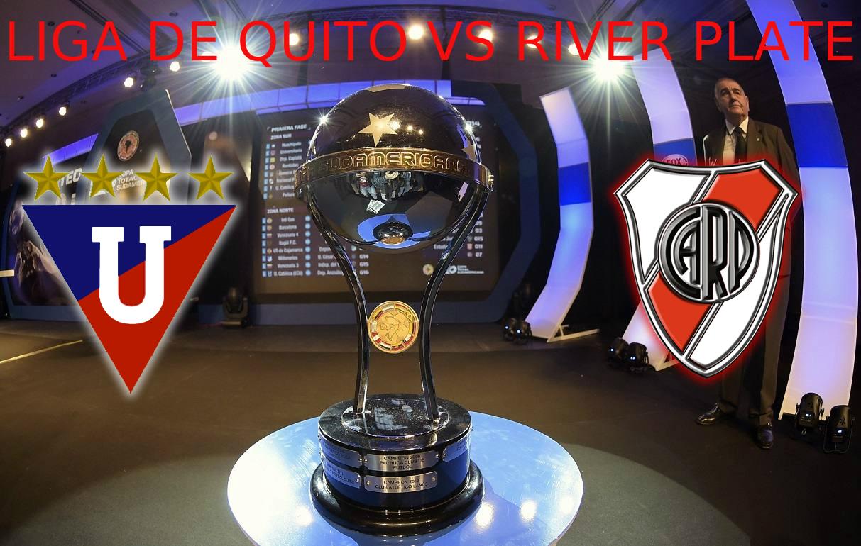 Liga de Quito vs River Plate en vivo por Internet - Copa Sudamericana 2015