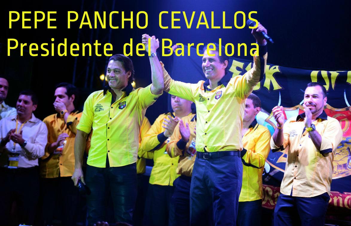 José Francisco Cevallos es el nuevo presidente del Barcelona S.C.
