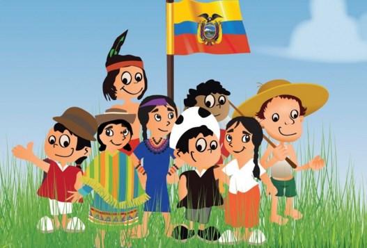 Celebración del 12 de Octubre en Ecuador