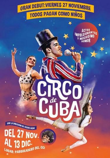 Información Circo de Cuba en Quito 2015