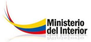 Denuncias Vía Internet Ministerio del Interior