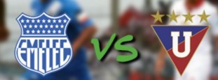 Emelec vs Liga de Quito 16 de Diciembre 2015