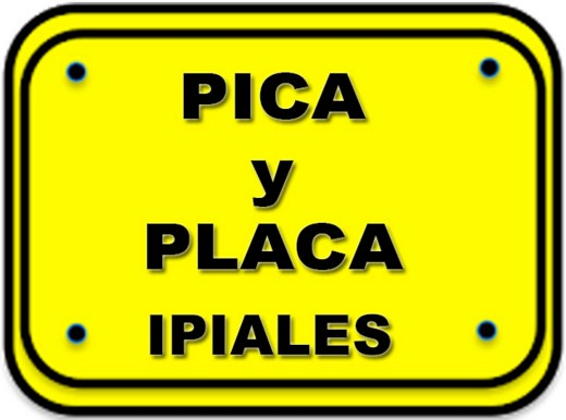 Horarios de Pico y Placa en Ipiales Colombia