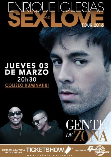 Concierto Enrique Iglesias Quito 2016