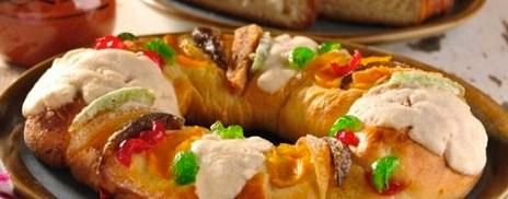 Ingredientes y Preparación Rosca de Reyes