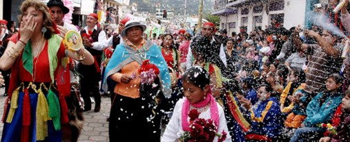 Lista de Coplas del Carnaval de Guaranda