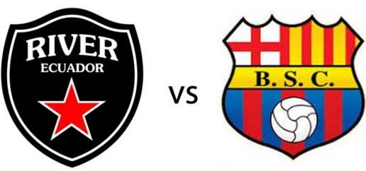River Ecuador vs Barcelona 17 de Febrero 2016
