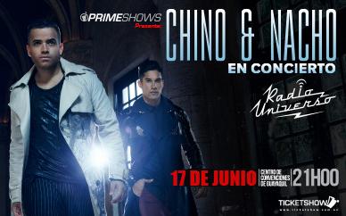 Concierto Chino y Nacho Guayaquil Junio 2016