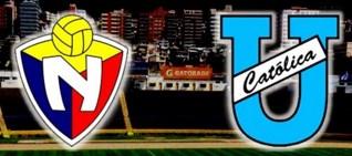 El Nacional vs Universidad Católica 18 de Marzo 2016
