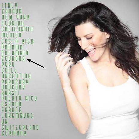 Concierto Laura Pausini Quito 2016