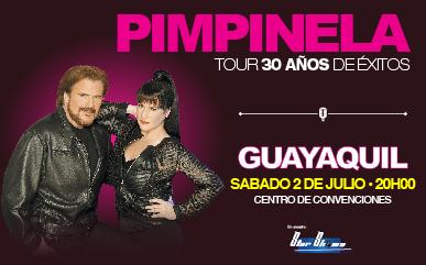 Concierto Pimpinela Ecuador Julio 2016