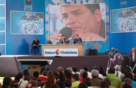 Correa eliminará las Sabatinas y la Secretaria del Buen Vivir