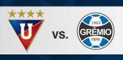 Liga de Quito vs Gremio 13 de Abril 2016