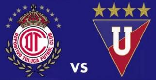 Toluca vs Liga de Quito 05 de Abril 2016