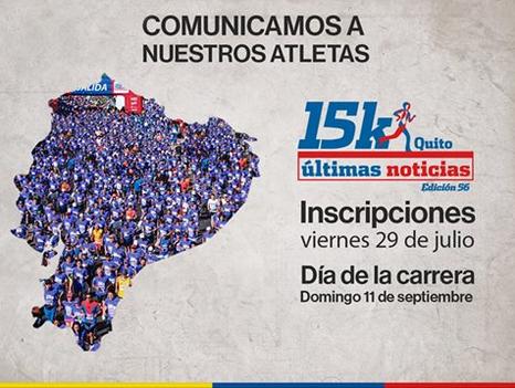 Carrera Ultimas Noticias 15K (Septiembre 2016)