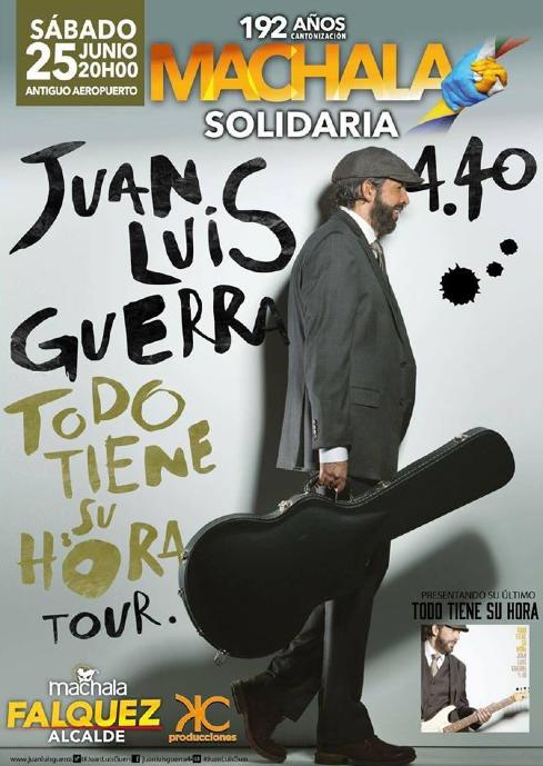 Concierto Juan Luis Guerra Machala Junio 2016