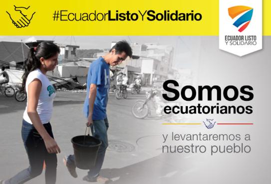 Día de la Solidaridad en Ecuador (16 de Abril)