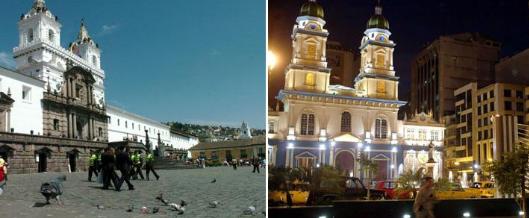 Distancia entre las ciudades de Quito y Guayaquil