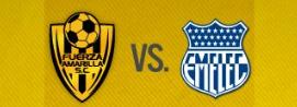 Fuerza Amarilla vs Emelec 04 de Mayo 2016